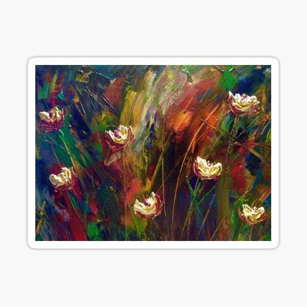 A Walk in a Meadow. Sticker