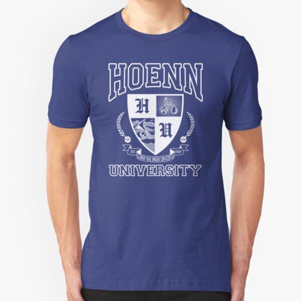 Hoenn University Slim Fit T-Shirt