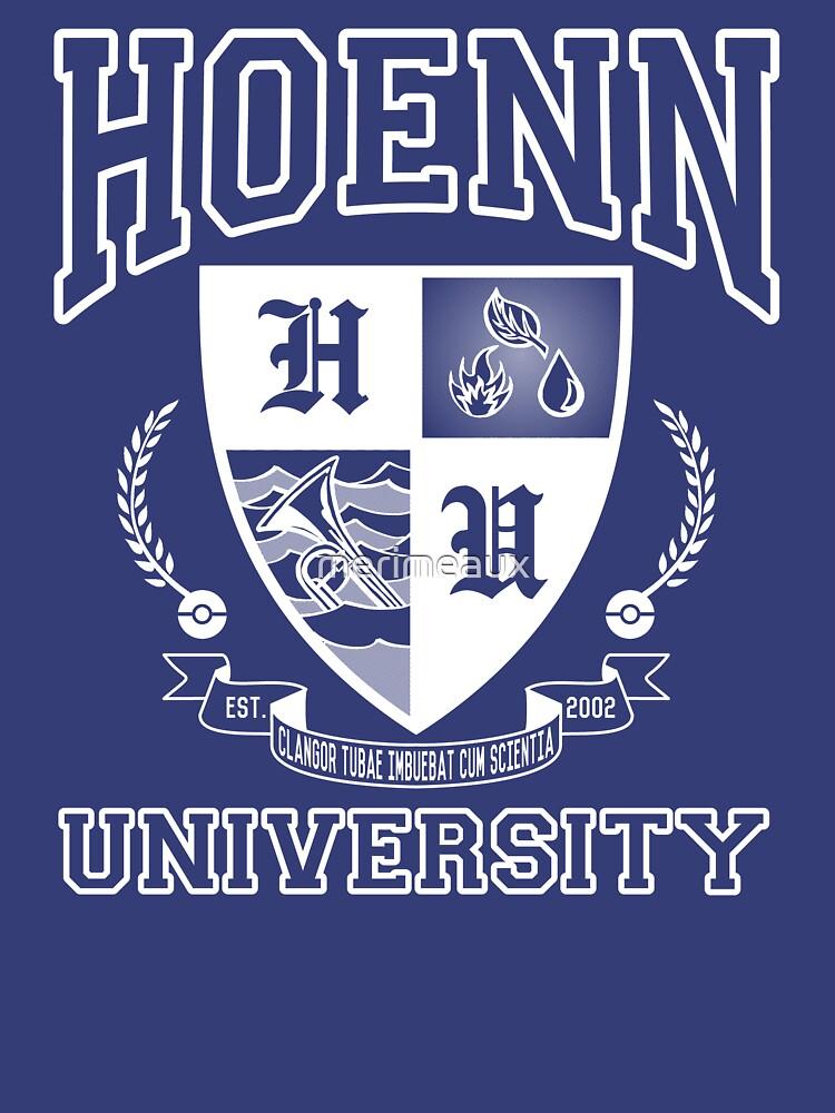 Hoenn University by merimeaux