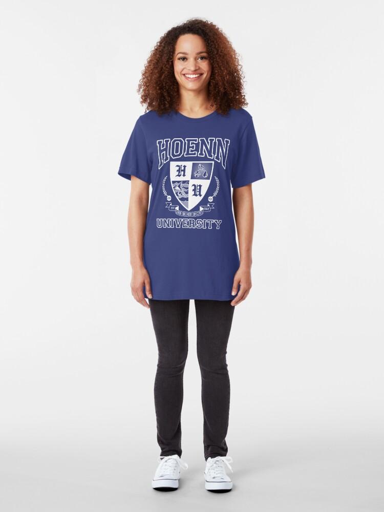 Alternate view of Hoenn University Slim Fit T-Shirt