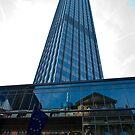 Buildings in Frankfurt by Richie Wessen