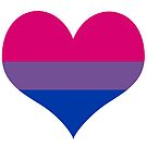 Bi Heart by Claire Faas