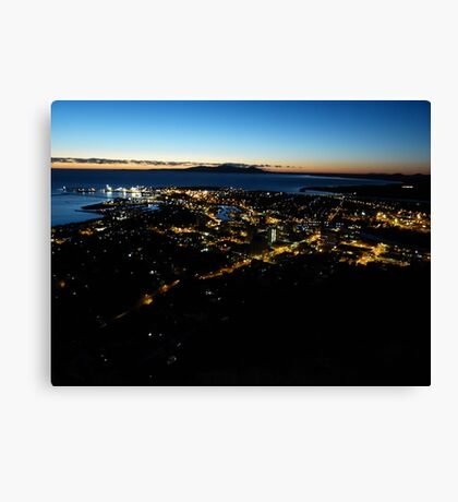 Sunrise at Townsville. Canvas Print