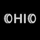 Ohio Tires Angle Dark Monotone by TinyStarAmerica