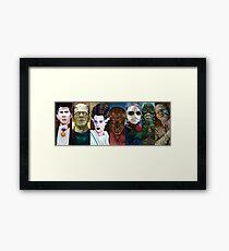 Monster Squad Framed Print
