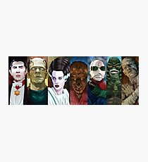 Monster Squad Photographic Print