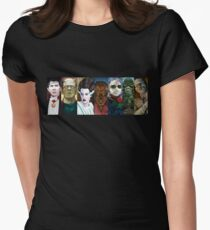 Monster Squad Womens Fitted T-Shirt