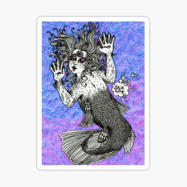 Lobe-finned Androgyne Sticker