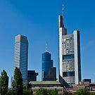 Frankfurt Skyline by Richie Wessen