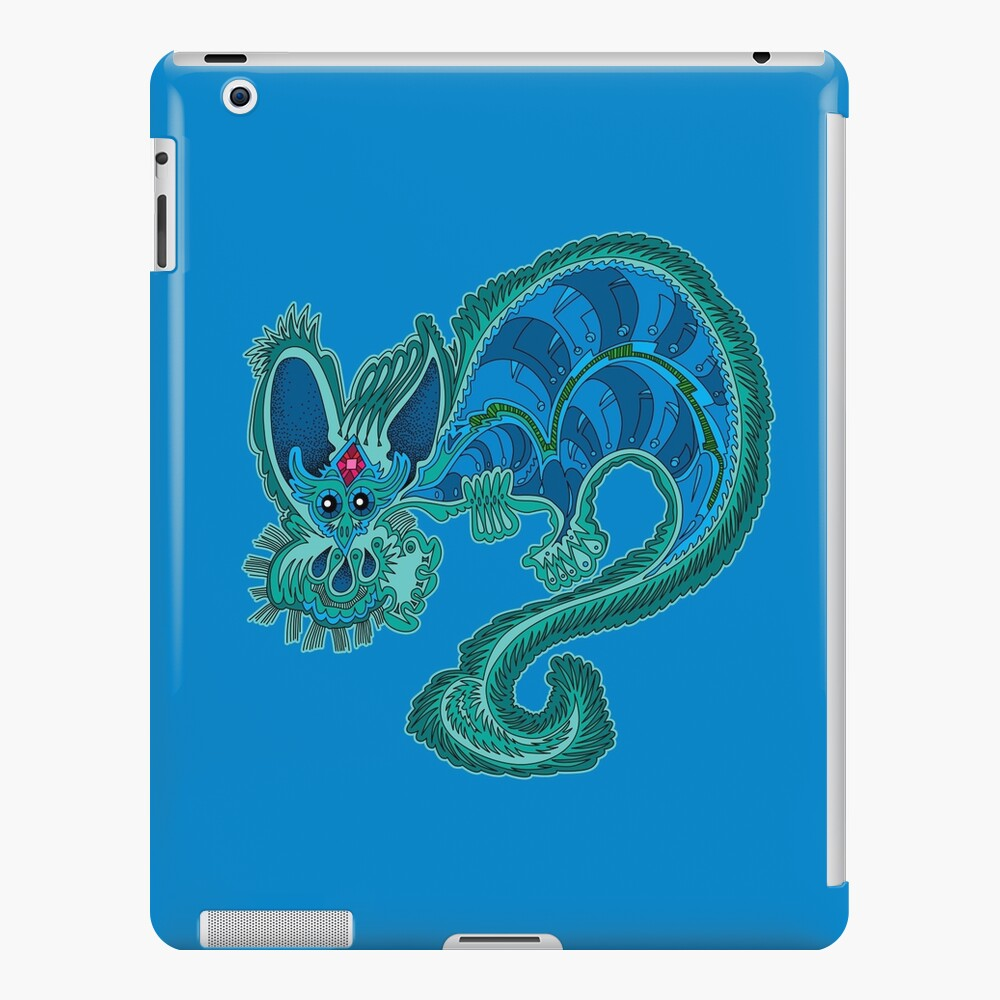 Fantasy Cave Dragon  iPad Case & Skin