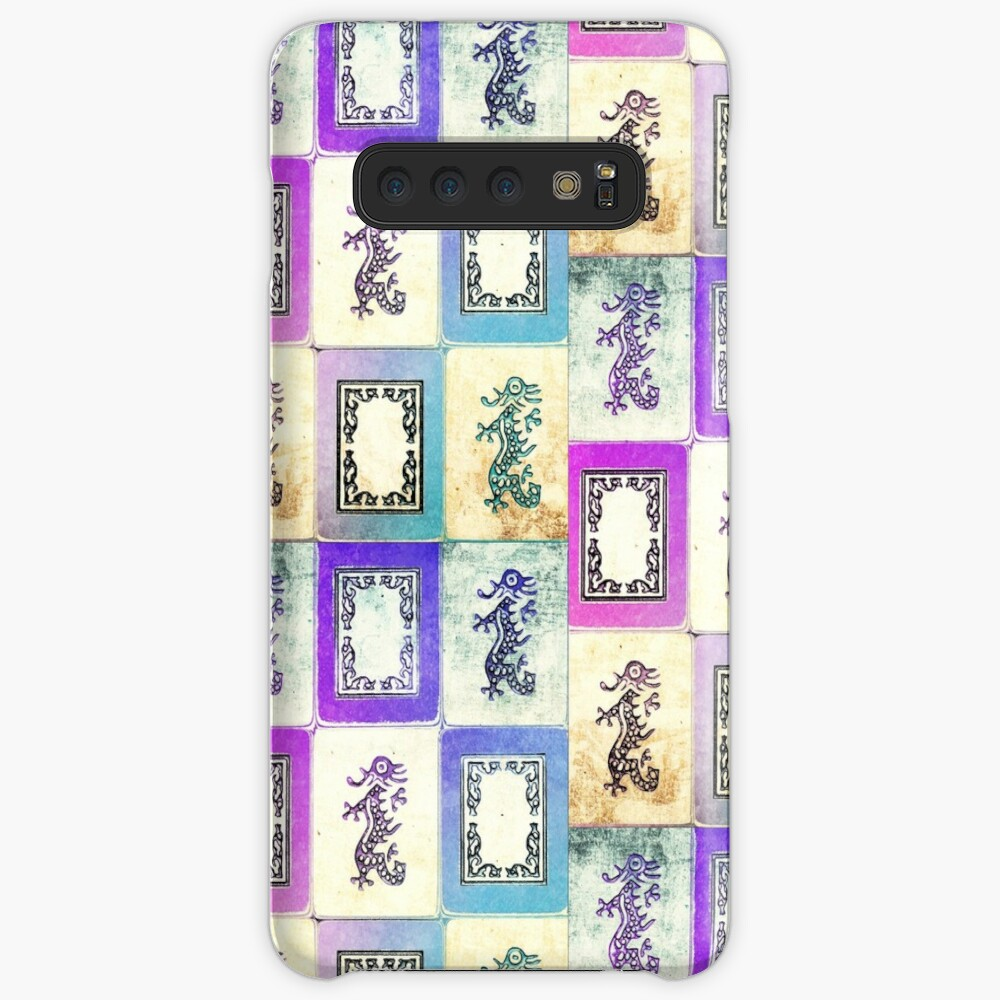 """Dragon Lady"" Mah Jongg - version two Case & Skin for Samsung Galaxy"