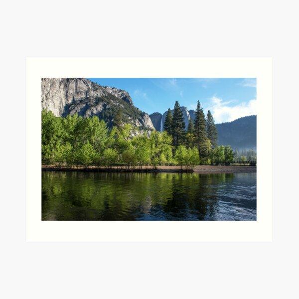 Daylight Delights at Yosemite Art Print