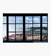Niagara Falls View Photographic Print