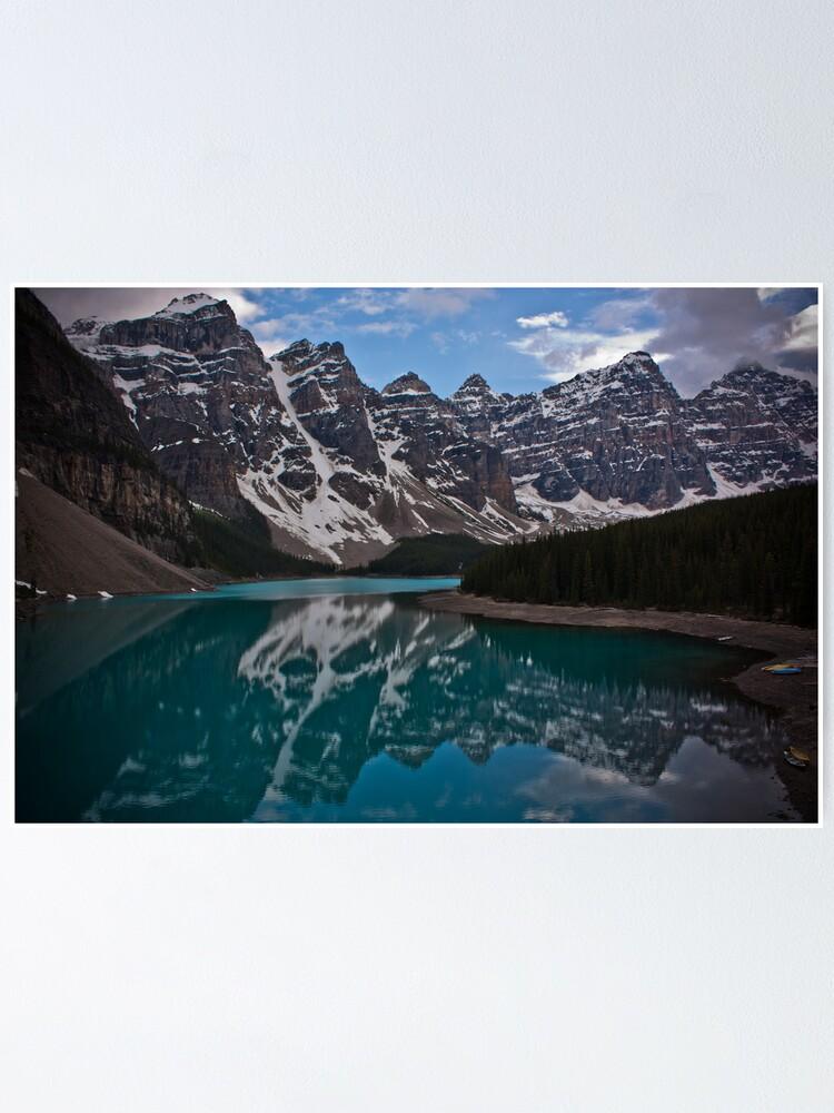 Moraine Lake Canadian Rockies Poster