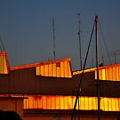 "City Life - ""Golden Ship-House"" by Denis Molodkin"