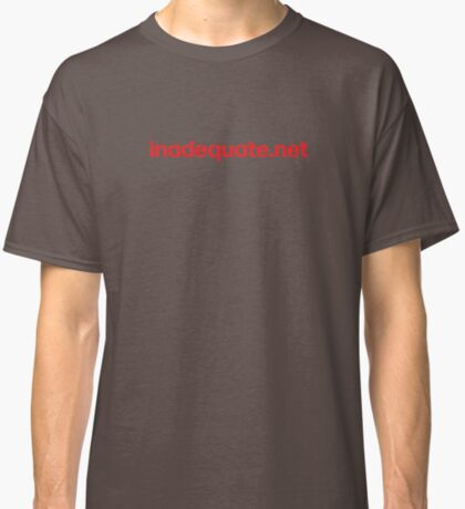 inadequate.net | an examination of free will | William O. Pate II Classic T-Shirt