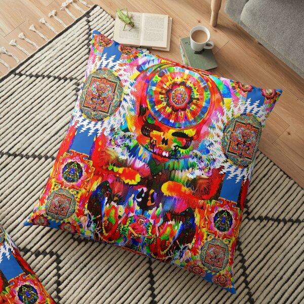 Tiger Yantra Floor Pillow