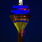 Dusseldorf Tower by Richie Wessen