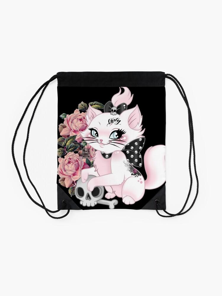 Alternate view of Still a Lady Drawstring Bag