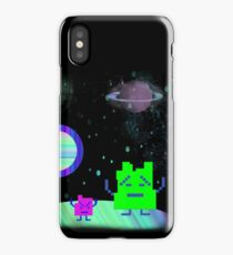 Mooninites On the air iPhone Case