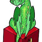 D06 Dragon Sticker by UncaLar