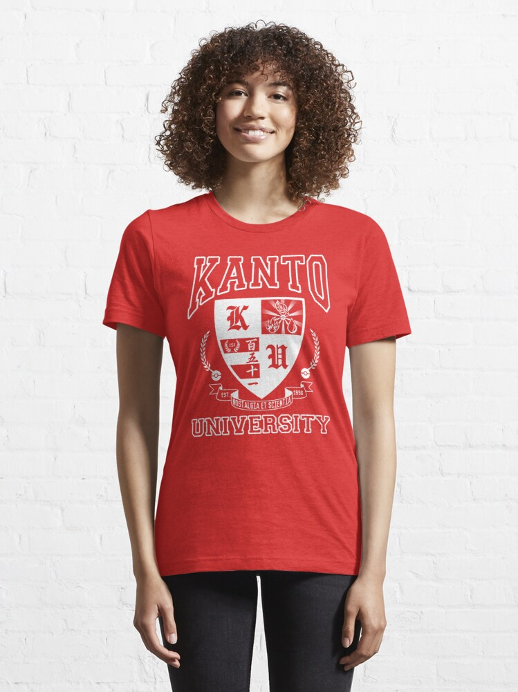 Alternate view of Kanto University Essential T-Shirt