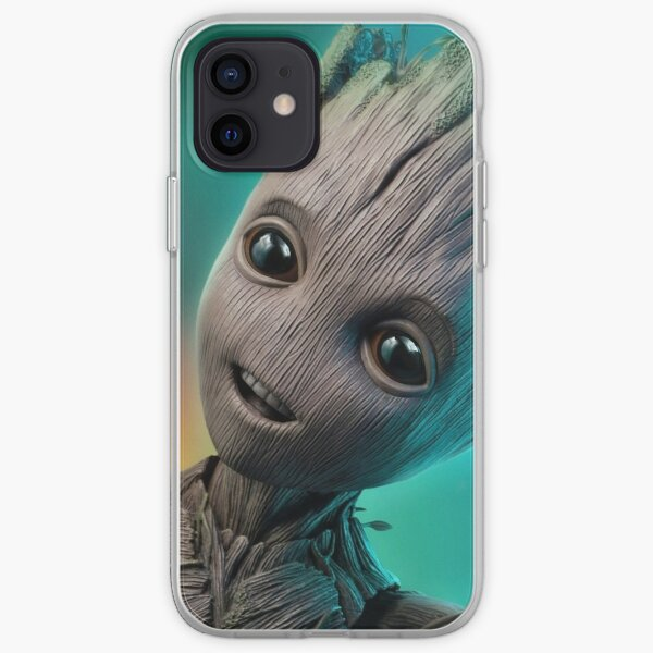 baby groot  iPhone Soft Case