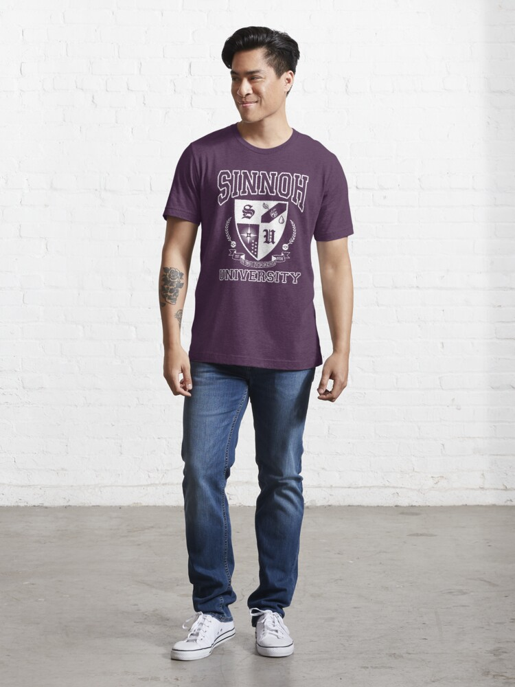 Alternate view of Sinnoh University Essential T-Shirt