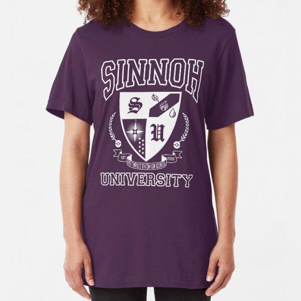 Sinnoh University Slim Fit T-Shirt