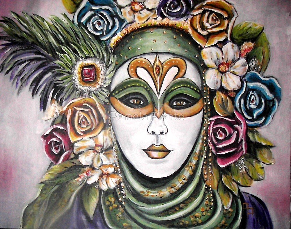 Flower Fantasy by Pamela Plante