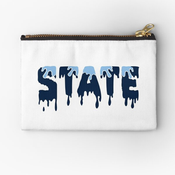 State dripping Zipper Pouch