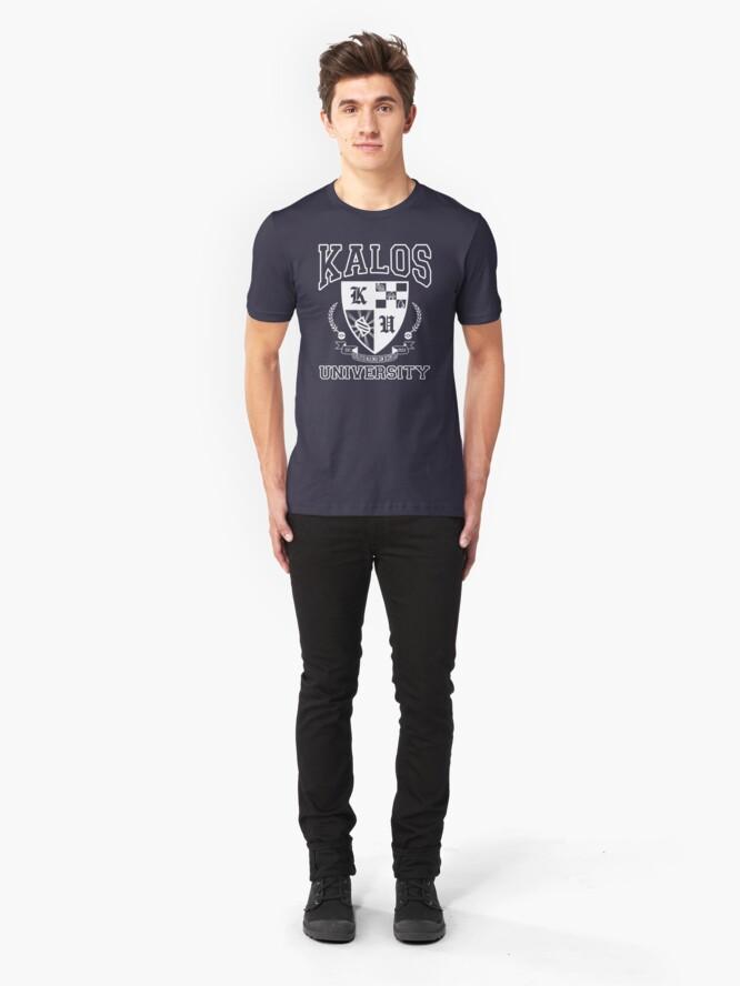 Alternate view of Kalos University Slim Fit T-Shirt