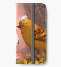 Honorer les oiseaux Étui portefeuille/coque/skin iPhone