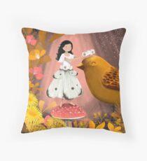 Honouring the Birds Floor Pillow