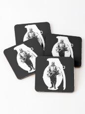 War/rior Coasters