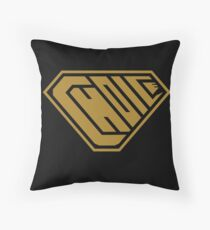 Choice SuperEmpowered (Gold) Throw Pillow