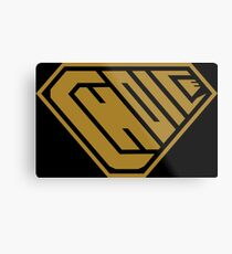 Choice SuperEmpowered (Gold) Metal Print