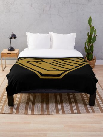 Choice SuperEmpowered (Gold) Throw Blanket