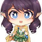 Avanna (elf version) by Chorvaqueen