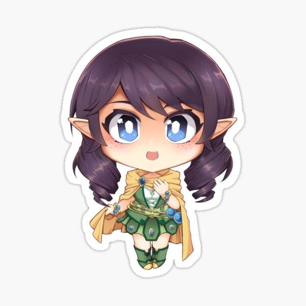 Vocaloid Avanna (elf version) Sticker