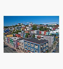 St John's In Living Colour Photographic Print