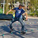 Dutch Rollerblader by Richie Wessen