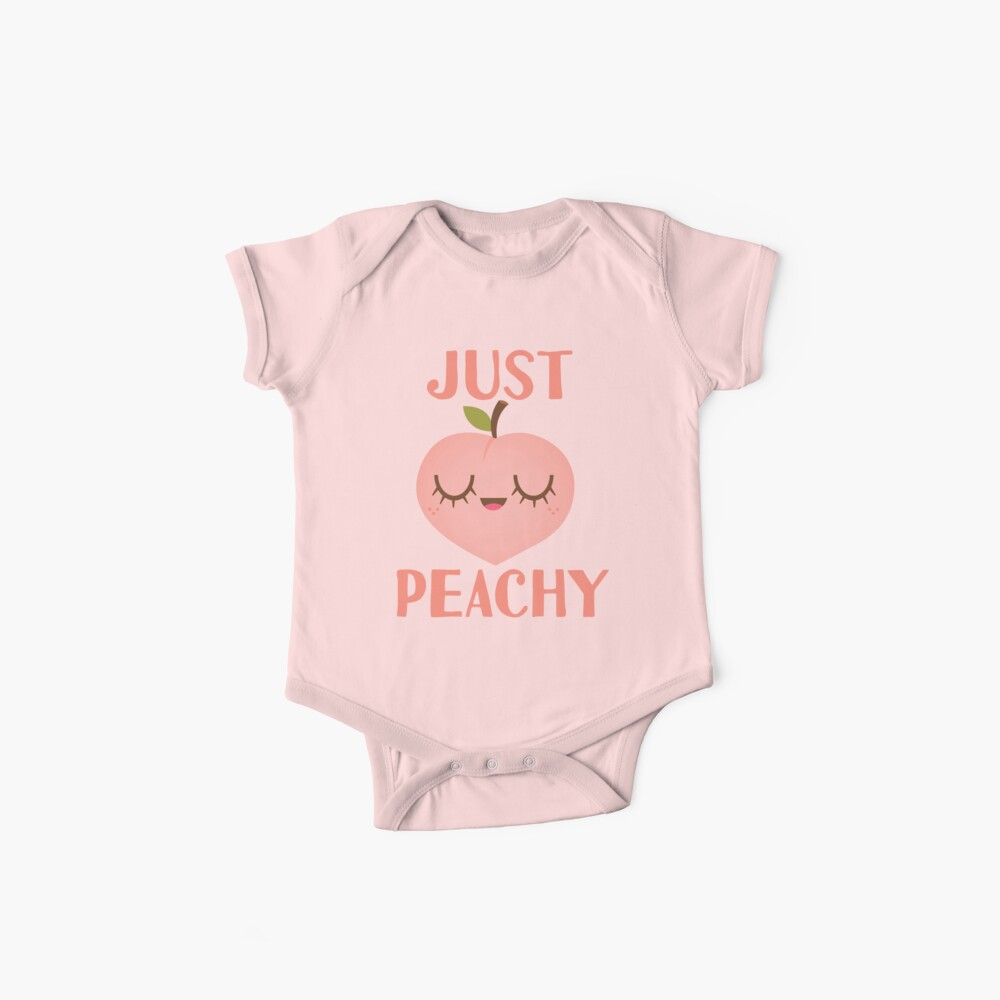 Just Peachy Baby One-Pieces