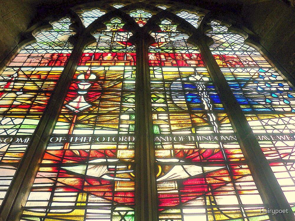 Window - at St. Matthews in Grantham by Hairypoet
