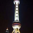 TV Tower, Pudong Shanghai by Richie Wessen
