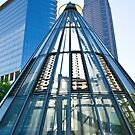 Unique View of Frankfurt Architecture by Richie Wessen
