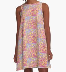 Tapestry of Leaves A-Line Dress