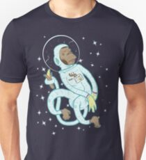 space monkey Slim Fit T-Shirt