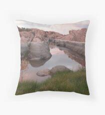 High Water Line Throw Pillow