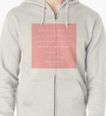14  |  Female Leaders Quotes | 190520 Zipped Hoodie